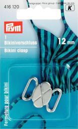 Bikini- und Gürtelverschluss MET 12 mm silberfarbig matt, 4002274161209