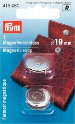 Magnet-Verschluß 19 mm silberfarbig, 4002274164804