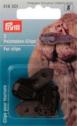 Pelzhaken-Clips braun, 4002274165016