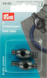 Cord stops plast small black 2 pc, 4002274166310
