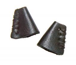 Kordelenden Leder 25 mm schwarz, 4002274166952