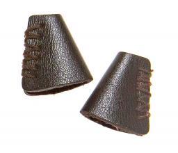 Kordelenden Leder 25 mm braun, 4002274166969