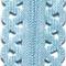 Prym Love Reißverschluss S11 Deko 40cm hellblau, 4002274184130