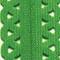 Prym Love Reißverschluss S11 Deko 40cm kermitgrün, 4002274184147