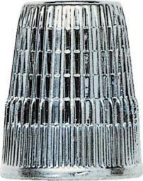 Fingerhut ZDG 17,0 mm silberfarbig, 4002274318634