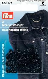 Mantelaufhänger EIS schwarz, 4002275521965