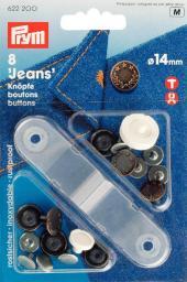 NF-Jeans-Knöpfe Lorbeerkranz MS 14 mm altkupfer, 4002276222007