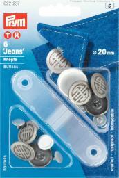 NF-Jeans-Knöpfe Artdeco MS 20 mm alteisen, 4002276222373
