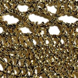 Bobbin Lace Lurex 35Mm Gold / Silver, 4029331077198