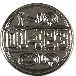 Knopf Ösen Metall 17mm, 4028752163800