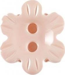 Knopf 2-Loch Blume 15mm, 4028752238362