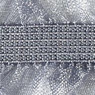 Ruffle On Both Sides Elastic 15Mm Shiny, 4028752201793