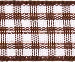 Taftband 15mm Vichy, 4006437646831