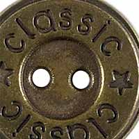 Knopf 2-Loch Metall 15mm, 4028752112020