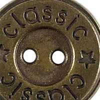 Knopf 2-Loch Metall 18mm, 4028752112044