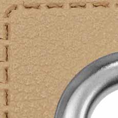 Ösen Patches für Kordeln Lederimitat, 4028752511731